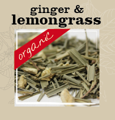 Org Lemongrass+ginger Tea